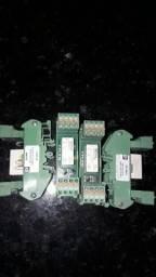 Componentes elétricos de comando e mediçao