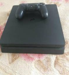 PS4 Slim Na Caixa