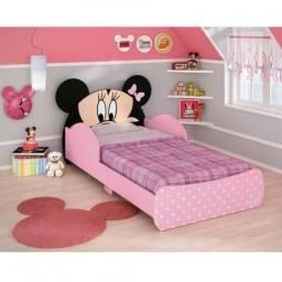 Mini Cama Infantil Pura Magia Minnie - Rosa / Nunca usada