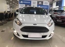 Ford Fiesta 1.6 SE PLUS HATCH 16V FLEX 4P POWERSHIFT - Branco - 2017 - 2017