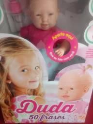 Vendo boneca fala 50 Frases e mamadeira magnética