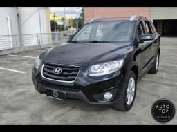 Hyundai Santa Fe GLS 4X4 2011 *7 lugares*top*couro*financio 100% sem entrada*impecável - 2011