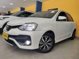 Toyota etios hatch 2018 1.5 platinum 16v flex 4p automÁtico