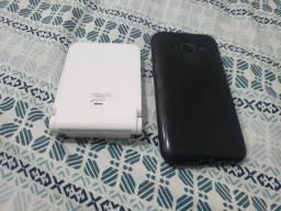 Carregador sem fio LG + capinha Galaxy S5