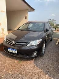 Raridade Única Corolla Altis 2013 top 77.000km Novo