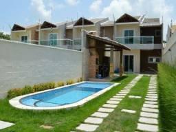 Casas em rua privativa no Eusébio, 3 ou 4 suítes 6 vagas