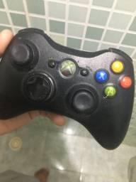 Controle de Xbox 360 com bateria