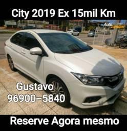 City 2019 único dono 15 mil Km Igual a zero garantia de fábrica
