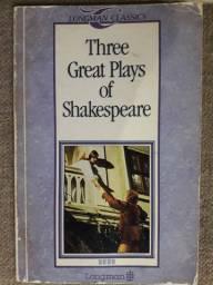Three Great Plays of Shakespeare - Longman Classics