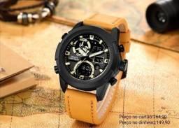 Relógio masculino original Smael