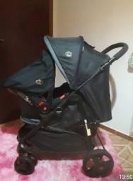 Carrinho de bebê cross black