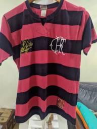 Camisa Flamengo Retro #8 Adilio