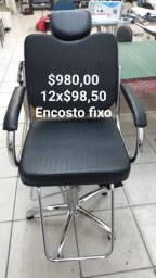 Cadeira hidráulica Nova encosto fixo direto do fabricante