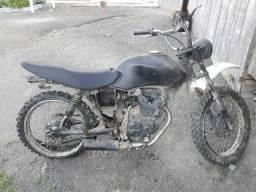 Vendo moto de trilha cg 125 motor filé