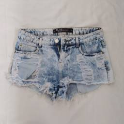 Shorts estonado jeans curtinho renner