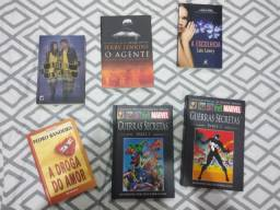 Livros e HQs a venda