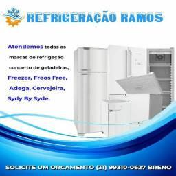 Conserto geladeiras é assistência técnica