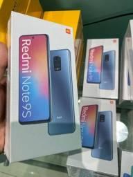 XIAOMI REDMI NOTE 9S 64GB TELA 6.67 novos disponíveis versão Global