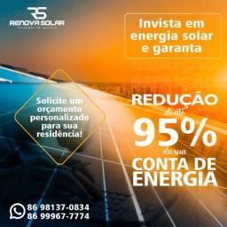 Energia Solar, Redução conta de energia