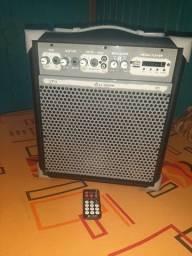 Caixa de som potente bluetooth ll audio