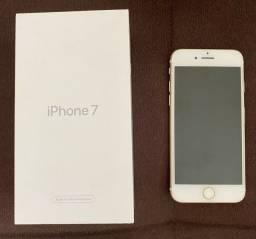 iPhone 7 gold ZERADO.