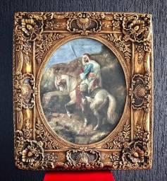 Quadro Luís XV com pintura clássica