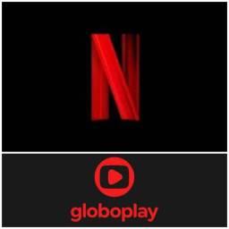 Globo e netflix