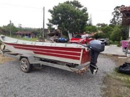 Barco 6,5m alumínio