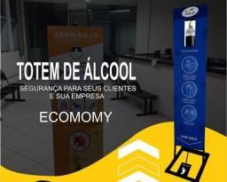 Totem de álcool em gel, promoção R$150,00