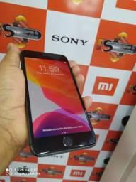 Iphone 8 plus 64 gb cinza semi novo