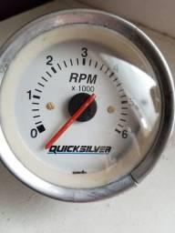 Tacometro RPM Nautico Barcos Lanchas Quick Silver Original Funciona Para todos