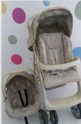 Conjunto Burigotto - Carrinho + Bebê conforto + Base