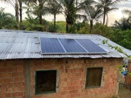 Energia Solar rural (interior) sítios , fazendas...
