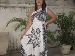 Vestido Batik de Lenço ?