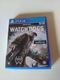 Watch Dogs PS4 Jogo de Vídeo Game Usado Ótimo Estado