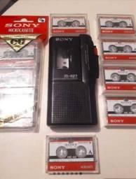 Micro Gravador Sony M-427 Em Estado De Zero!! Relíquia!!