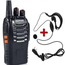 Kit rádio comunicador novos entregamos walk talking