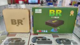Tv Box BR 4k 8+128 Giga Pronta Entrega