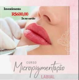 Curso de Micropigmentação de Lábios