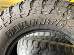 Vendo pneus dodge ram 35x12.5R18 marca Delinte