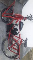 Bike motorizada semi nova