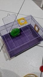 Gaiola para hamster usada