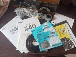 Caixa Nikon D40