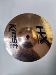 Prato de bateria Splash 8 Serie Hx Da Krest Cymbals Bronze B8