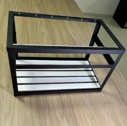 Rig mineração ethereum (Rig Frame ) suporta até 6 Placas de video
