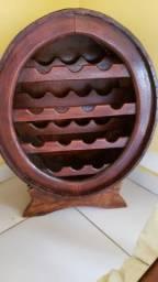 Adega de Vinhos em Madeira 14 Garrafas - Semi Nova -