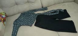 Vendo conjunto  a blusa ê da marca latoya