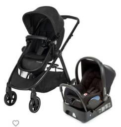 Carrinho de bebê e bebê conforto Maxi Cosi