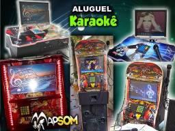 ALUGUEL DE KARAOKÊ 2 EM 1 JUKEBOX