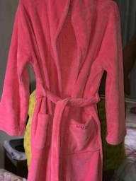 Roupão Robe Pink Felpudo Demillus (Novíssimo)